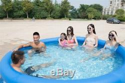 10 Feet Inflatable Swimming Pool Outdoor Child Adult Summer Pool For Play Garden