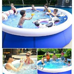 10' x 30 Quick Set Inflatable Above Ground Swimming Pool Family Kid Water Sport