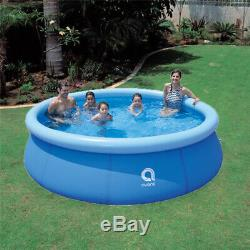 10' x 30 Quick Set Inflatable Above Ground Swimming Pool Kid Family Water Sport