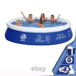 10ft Prompt Set Inflatable Paddling Pool Swimming Pool Family Fun Outdoor Party
