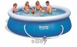 12 X 36 Inflatable Above Ground Swimming Pool With Filter Pump 3 Month Warranty