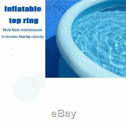12' x 36 Inflatable Swimming Pool Above Ground for Kids Family Water Sport