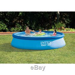 12ft x 30 Intex Easy Set Inflatable Above Ground Swimming Pool & Filter Pump