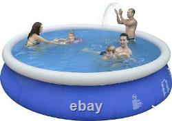 15' x 36 Inflatable Above Ground Swimming Easy Pool Set with Ladder & Filter Pump