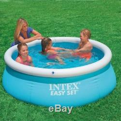 183cm Family Inflatable Pool Above Ground Swimming Pool Kid Adult Children Blue