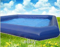 2323ft Inflatable Family Swimming Pool for Walking Ball Kids Play+2PCS Blower