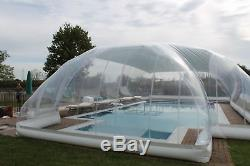 29x13x10Ft Inflatable Hot Tub Swimming Pool Solar Dome Cover Tent