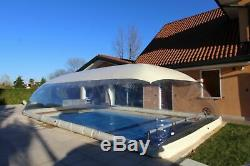 39x19x10Ft Inflatable Hot Tub Swimming Pool Solar Dome Cover Tent Express Ship