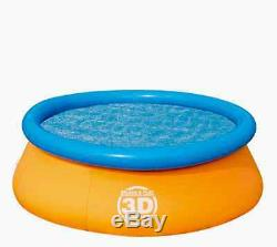 3D Inflatable Round Swimming Pool Baby Kid Outdoor Children Fun Water Summer Toy
