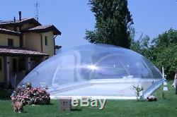 49x26x10Ft Inflatable Hot Tub Swimming Pool Solar Dome Cover Tent