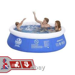 8ft Prompt Inflatable Paddling Pool Swimming Pool Summer Family Fun Outdoor