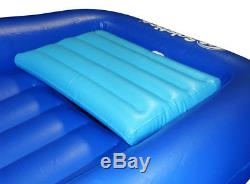 ABOVE or In GROUND SWIMMING POOL FLOAT INFLATABLE AIR MATTRESS LOUNGER with COOLER