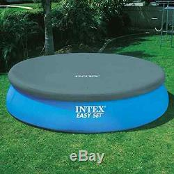 Above Ground Swimming Pool Intex 18ft X 48in Inflatable Round Summer Family FUN