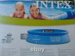 BNIB INTEX Easy Set POOL With FILTER PUMP 8FT X 24 SWIMMING + FREE COURIER