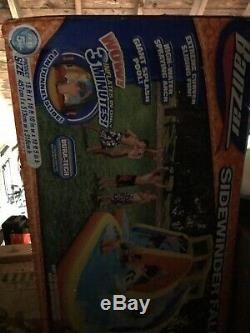 Banzai Sidewinder Falls Inflatable Water Park Pool with Slides Brand New