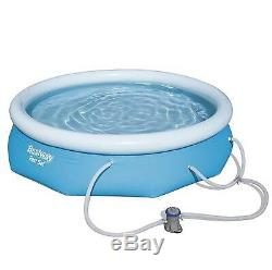 Bestway 10' x 30 Fast Set Inflatable Above Ground Swimming Pool (Open Box)