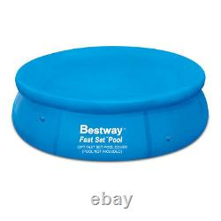 Bestway 12ft-foot Fast Set Garden Round Inflatable Swimming Paddling Pool Cover