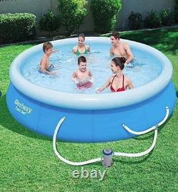 Bestway 13'x30 Fast set, Easy Inflatable Pool with Filter and Pump