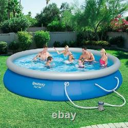 Bestway 15' x 33 Fast Set Inflatable Above Ground Swimming Pool (Open Box)