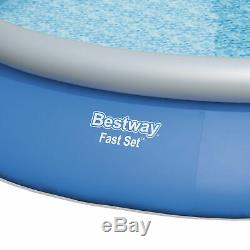 Bestway 15' x 33 Inflatable Above Ground Swimming Pool with 330 GPH Filter Pump