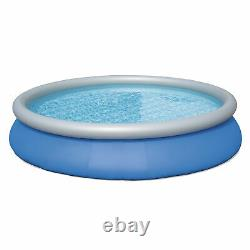 Bestway 15ft x 33in Inflatable Above Ground Swimming Pool with 330 GPH Filter Pump