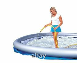 Bestway 8ft x 26in Fast Set Inflatable Above Ground Swimming Pool with Filter Pump