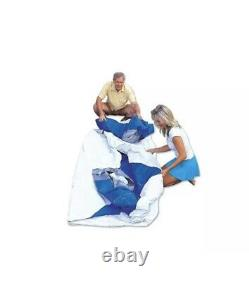 Bestway Fast Set Up 12ft x 30in Inflatable Above Ground Swimming Pool with Pump