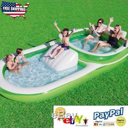 Bestway H2OGO! Family Pool With Slide 147 x 74 x 27