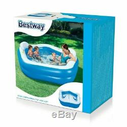Bestway Inflatable Family Swimming Pool Kids Water Summer Fun Lounge Pool Play