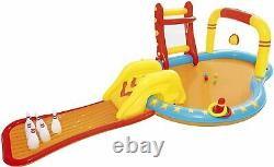 Bestway Inflatable Kids Water Play Center Lil' Champ Paddling Pool