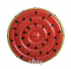 Bestway Inflatable Pool Watermelon Island Swimming Float Raft Water Fun Play Toy
