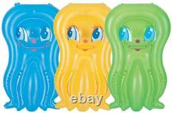 Children's Inflatable Octopus Mini Lilo Swimming Pool Float Holiday For Age 3+