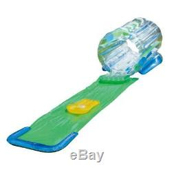 Clear Inflatable Splash Tunnel Slide Toy Pool Water Kids Outdoor Swimming Play