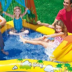 Dinosaur Inflatable Childern Toddlers Center Pool Water Outdoor Summer Gift Toy