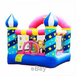 Doctor Dolphin Inflatable Bouncer Kids Bounce House for Birthday Party with Air