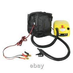 Electric 12V DC Inflatable Air Pump for Kayak Boats Swimming Pool Air Cushions