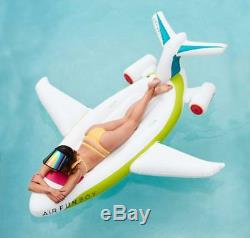 FUNBOY Giant Inflatable Airplane Pool Float