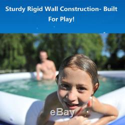 Family Inflatable Swimming Wading Paddling Pool Deep Kids Pools Toy Outdoor Gift