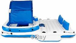 Floating Island Inflatable Large Lounge Pool Float Water Giant Lake River Raft