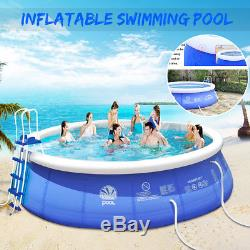Giant Family Inflatable Above Ground Swimming Pool Paddling Pool Kids 5 Sizes