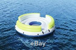 Giant Inflatable 6-Person Raft Water Float Lounge Island Swimming Pool Party New