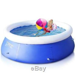 Giant Inflatable Ground Swimming Pool 8' x 30 Easy-Set