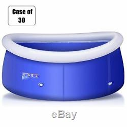 Goplus Case of 30 Inflatable Swimming Pool Family Lounge Pool Swim Play Cente