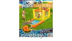 H20 GO Inflatable Kids Funplex Bouncer, Play Pool, Inflatable Pool & Water Slide