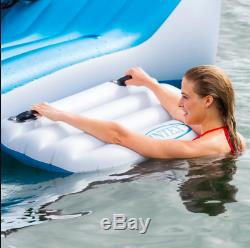 Huge Inflatable Floating Island 6 Person Oasis Lounge Pool Lake Party Water Raft