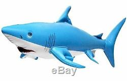 INFLATABLE JAWS WHITE SHARK Float Swimming Pool Summer Sea Play Toy New