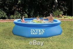 INTEX 10ft x 30in Easy Set Above Ground inflatable Swimming Pool
