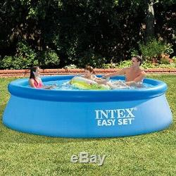 INTEX Easy Set 10ft x 30in Above Ground Inflatable Swimming Pool