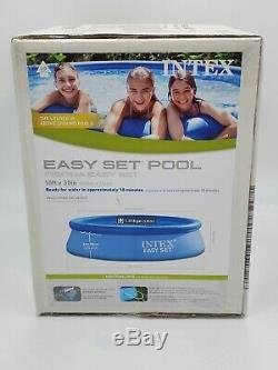 INTEX Easy Set 10ft x 30in Above Ground Inflatable Swimming Pool FAST SHIPPING