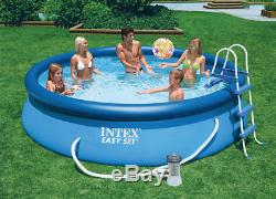 INTEX Swimming Pool Easy Set 366x76cm Summer Fun Children Inflatable Pool